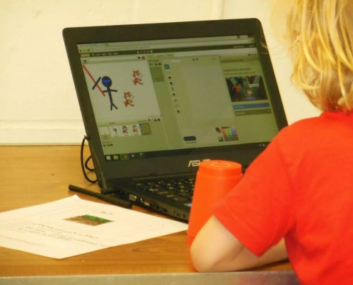 Imagination has no limit with Junior Game Creators