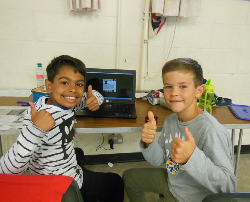 Big Thumbs Up from our Junior Game Creators