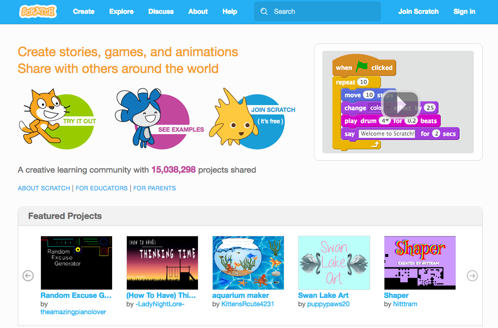Creating Your Scratch Account - Junior Game Creators