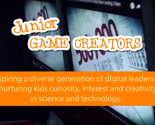 Gamewagon Sponsors Junior Game Creators