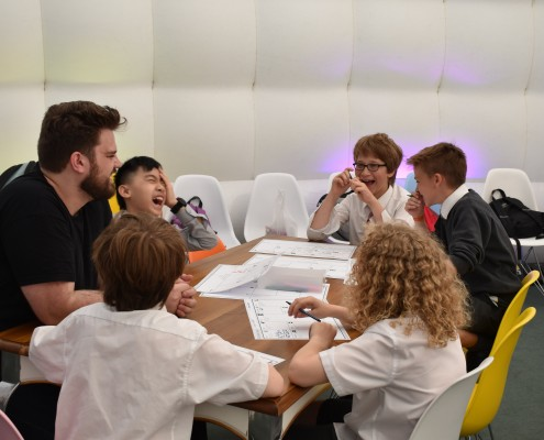 Fun and Games with Junior Game Creators