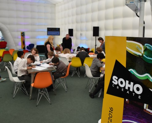 Soho Create and Junior Game Creators
