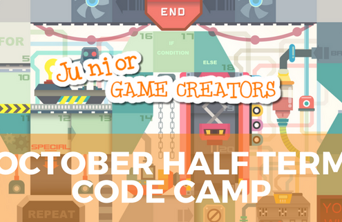 October Half Term Code Camp