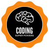 Coding Super Powers Badge