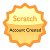 Scratch Badge